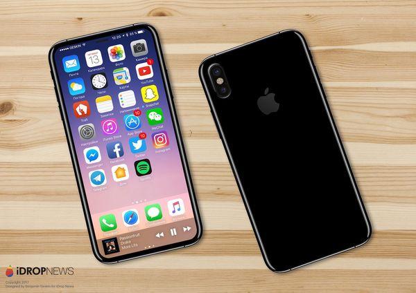iDropNews tilasi näyttävän luonnoksen tulevasta iPhonesta omien tietojensa perusteella. Touch ID -sormenjälkitunnistin sekä etukamera olisi integroitu näyttöön.