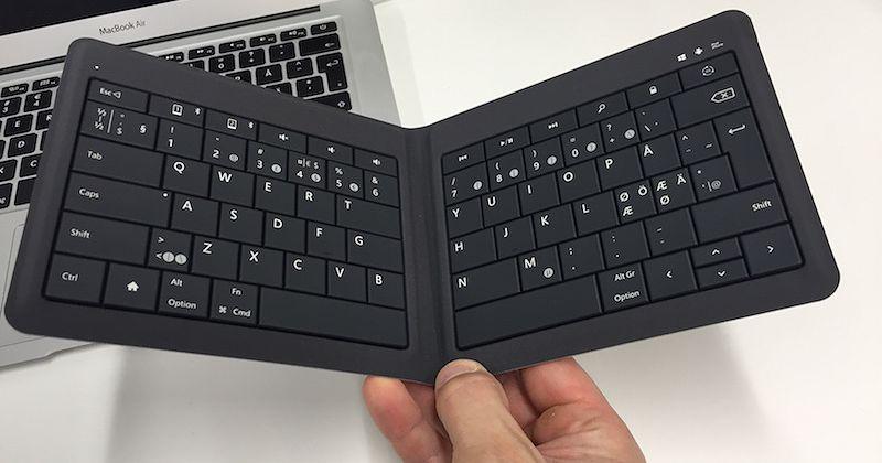 Video Tämä kokoon taittuva näppäimistö helpottaa iPad