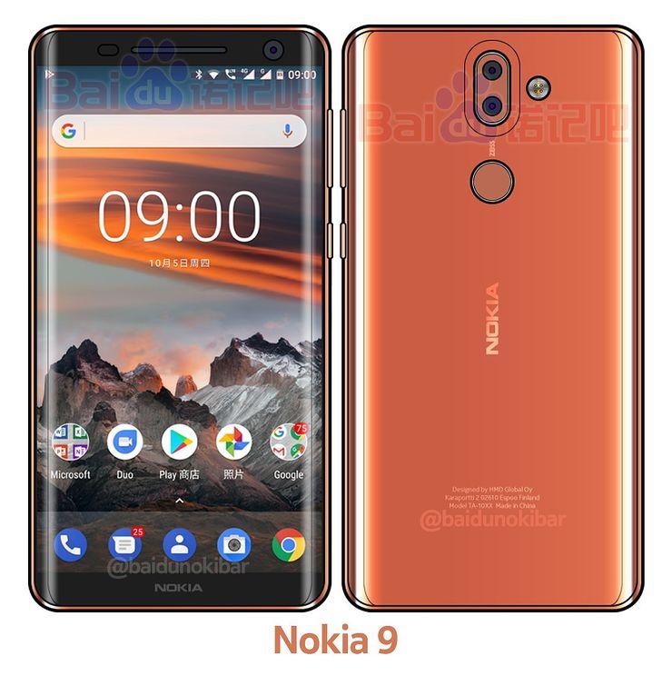Nokibarin näkemys tulossa olevasta Nokia 9:stä.