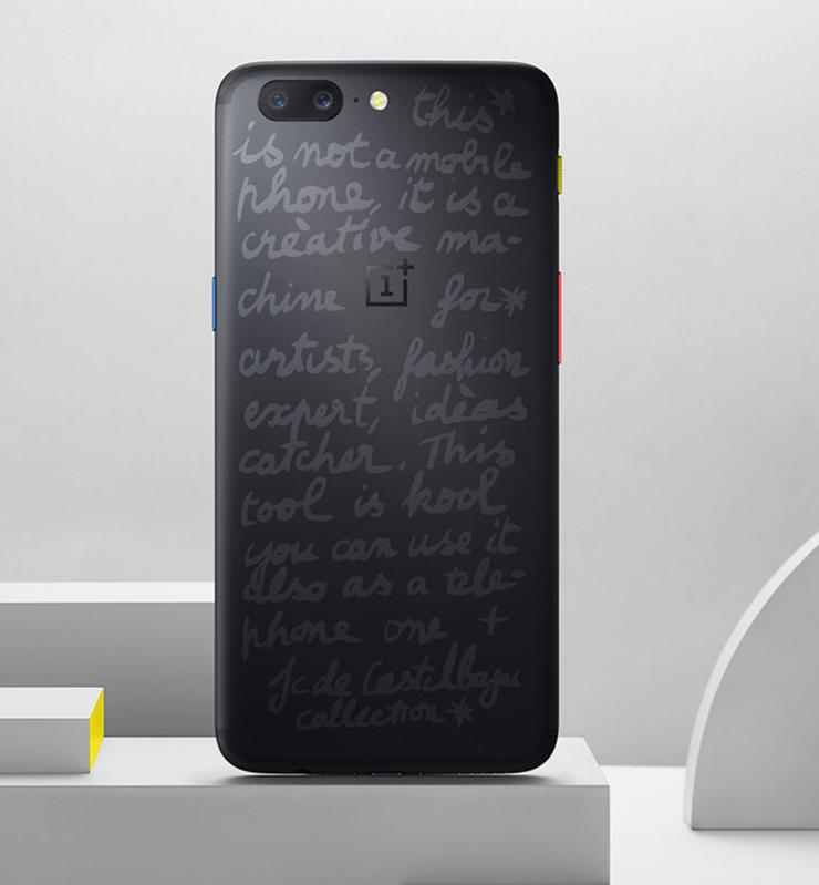 OnePlus 5:n uusi JCC-erikoisversio.