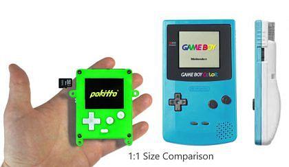 Pokitto ja legendaarinen Game Boy.