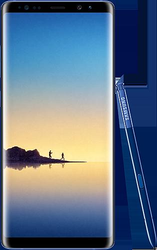 Samsung Galaxy Note8 Deepsea Blue. Evan Blassin julkaisema kuva.