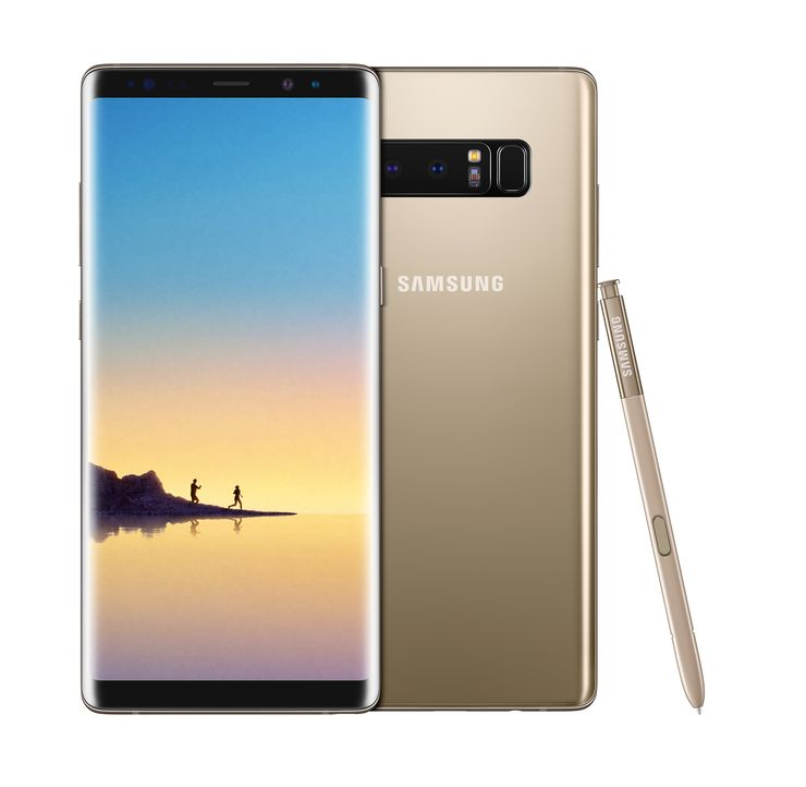 Samsung Galaxy Note8 Maple Gold.