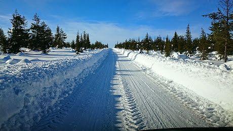 Tuntsan talviset olosuhteet 2015 maaliskuu,