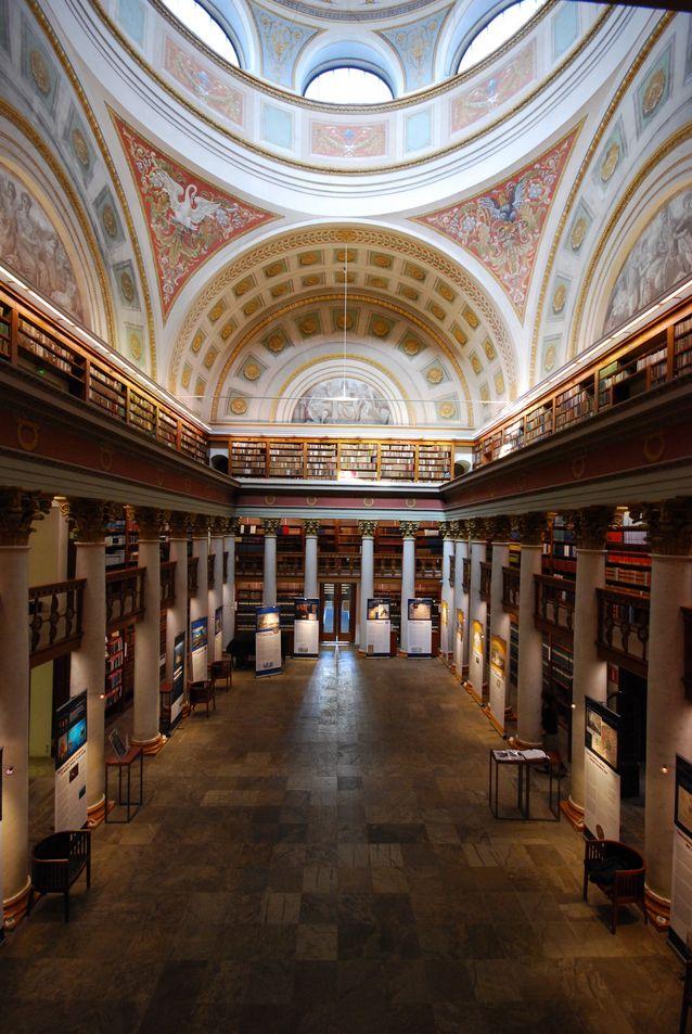 Kansalliskirjasto. Kuva: Wikimedia Commons.