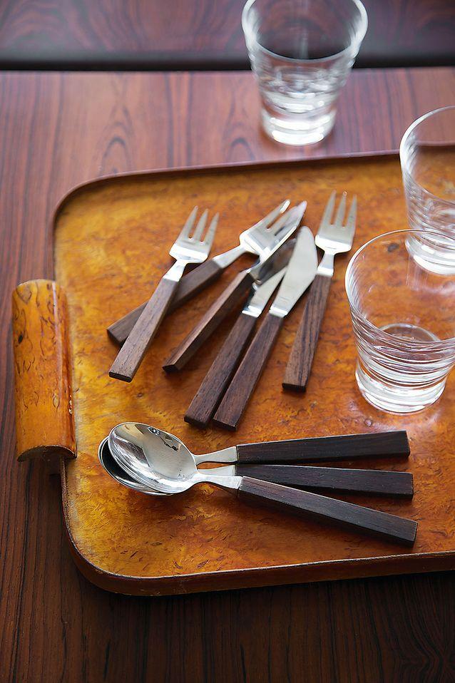 Bertel Gardbergin Triennale-sarjan aterimet on suunniteltu 1956-57.