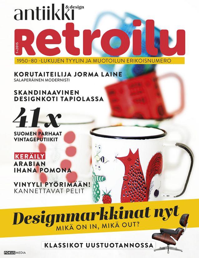 Retroilu-erikoisnumeron saavat kaikki Antiikki & Design -lehden tilaajat.