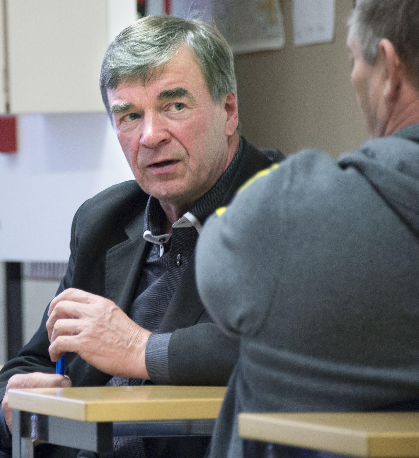 Euralainen Timo Kalli on toiminut kansanedustajana Satakunnan vaalipiiristä vuodesta 1991 lähtien. Kuva: LS-arkisto/Esa Urhonen