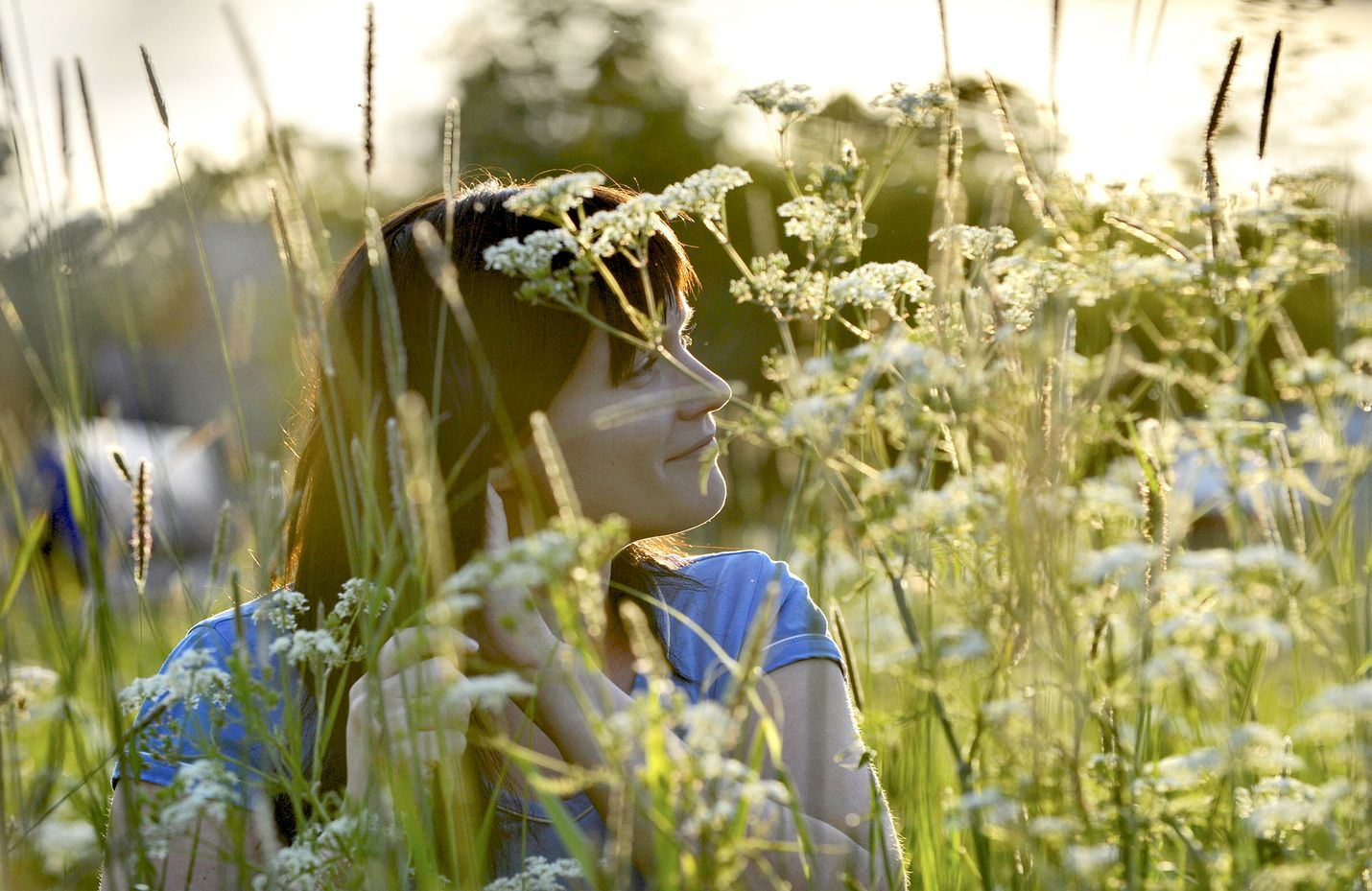 Tänä juhannuksena aurinko on pilkahdellut hetkittäin. Kuva: LS-arkisto/ Esa Urhonen