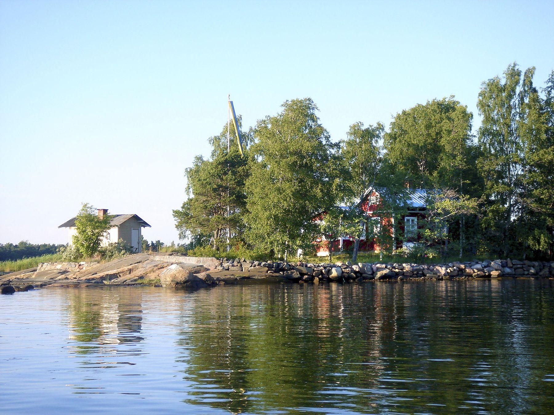mökki järven rannalla vuokra Loviisa