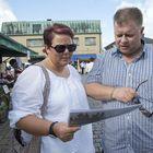 Miia ja Mika Heino yllättyivät kuva-arvoituksen oikeasta vastauksesta.