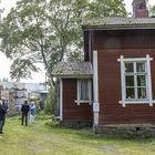 Kauttuan Ruukinpuistossa sijaitseva Keittimäen asunto avattiin vieraille viikonloppuna.