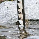Syvärauman mittatikku näytti iltapäivällä veden olevan noin 90 senttiä normaalia korkeammalla. Veden pinta oli noussut kolmessa tunnissa 10 senttiä.