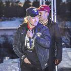 Supersuosittu rap-duo JVG villitsi ilmaiskonsertissa Laitilassa. Kuva: Titti Lehtinen