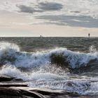 Valio-myrsky Kallossa. Lukijan kuva: Leena Väinölä