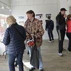 Syyskuun aikana esillä olleessa Länsi-Suomen lehtikuvanäyttelyssä vieraili ennätysyleisö. Kuva: LS-arkisto/Esa Urhonen