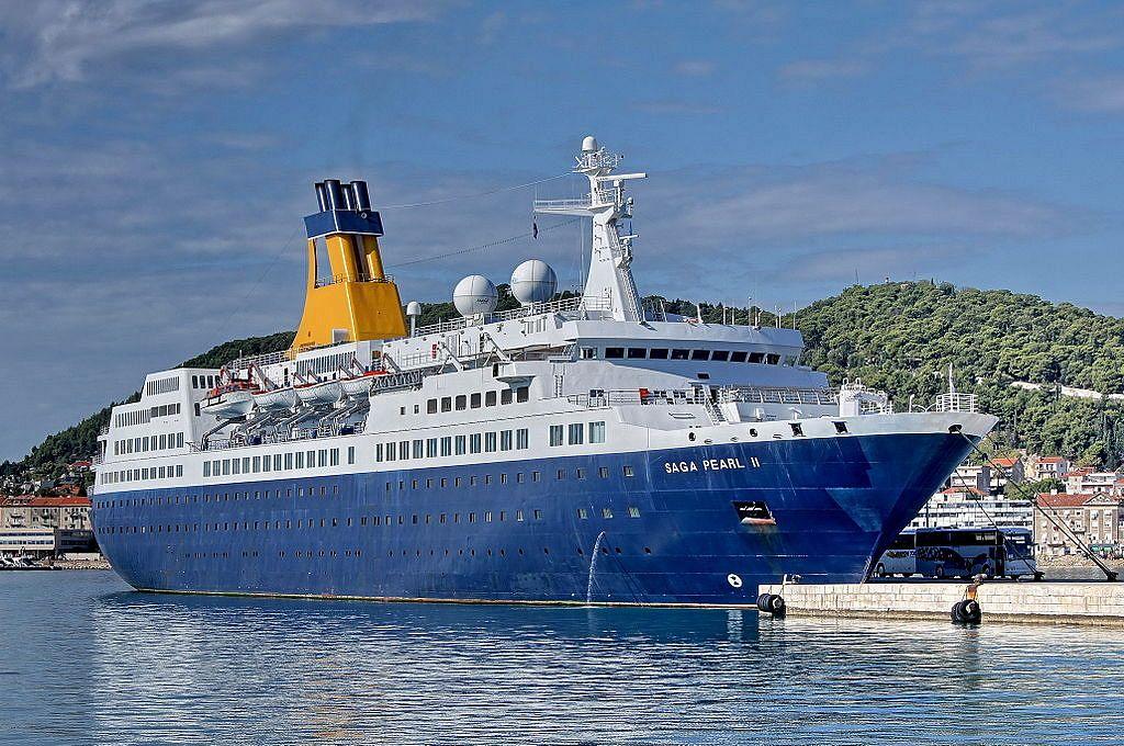 Saga Pearl II Splitissä Kroatiassa. (Kuva Wikipedia Commons)