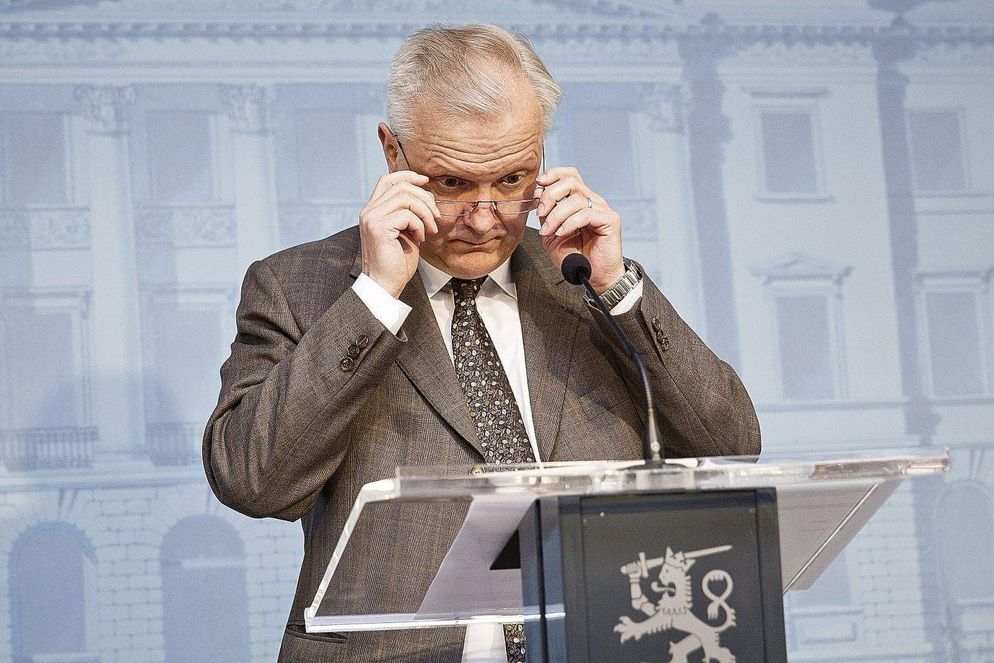 Onko kroatialainen firma kotimainen? Sitä joutuu Olli Rehn miettimään lähipäivät.