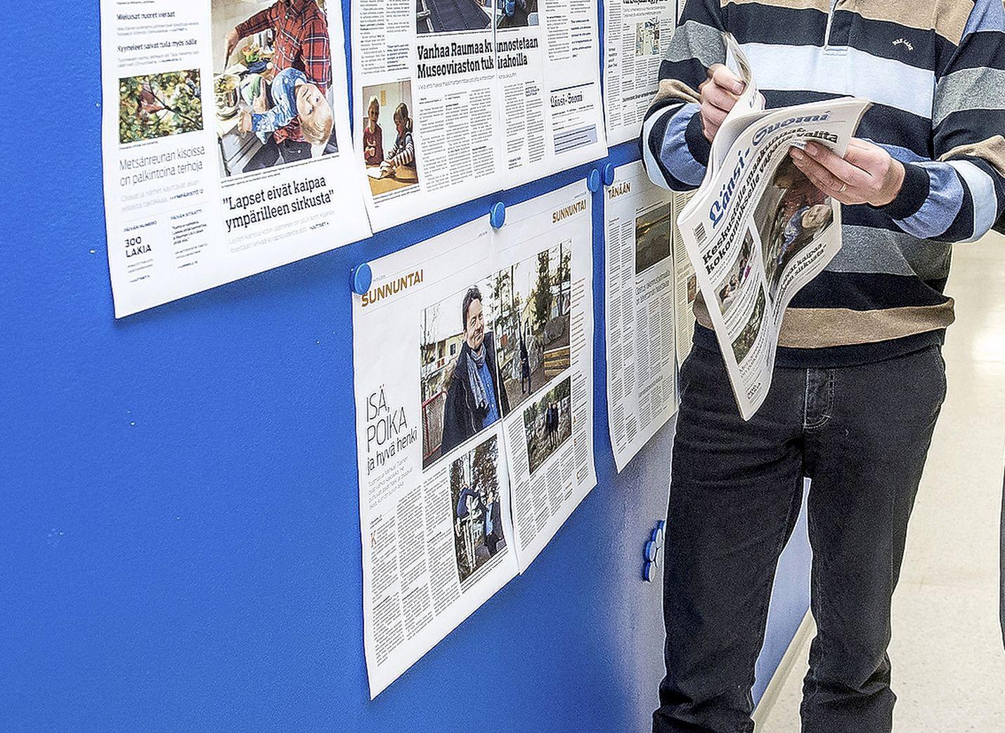 Seitsemänpäiväisistä sanomalehdistä yli puolet on muuttanut formaattinsa tabloidiin. Nyt on Länsi-Suomen vuoro.