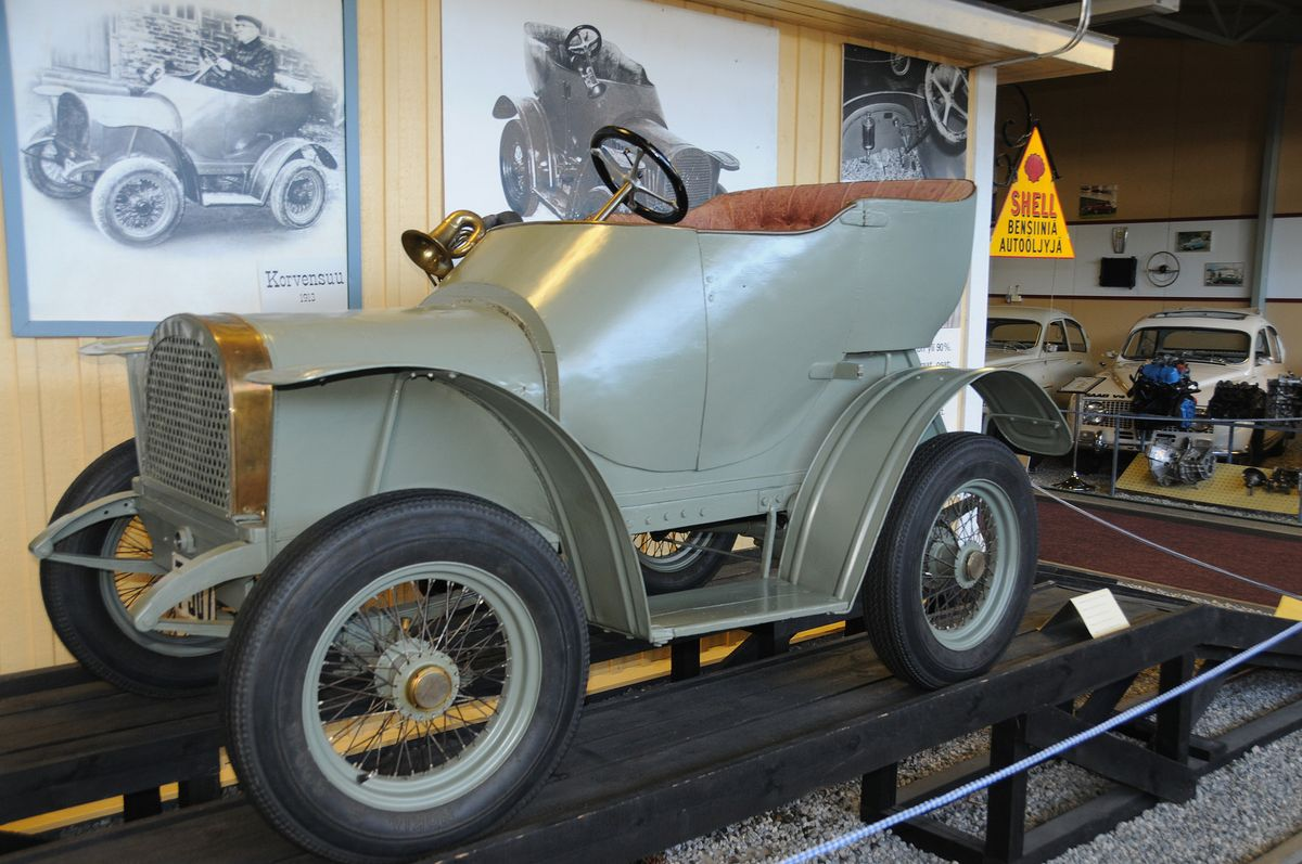 Ensimmäinen Auto Suomessa