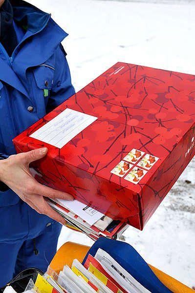 Joulupaketit Postiin 2021