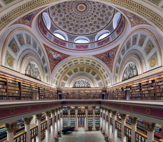The Finnish National Library. Photo: Sanna Järvinen.