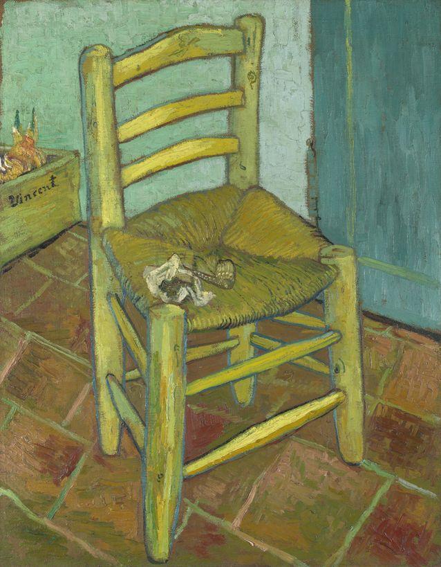 Van Goghin Tuoli. Hyvä vai huono tuoli? Kuva: WikimediaCommons/National Gallery.