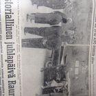 Kekkosen tuloa Raumalle elokuussa vuonna 1962 uutisoitiin Länsi-Suomessa kokonaisen aukeaman verran.