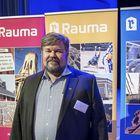 Logistikaksen hallituksen puheenjohtaja Ari Salmi kertoi Rauman rakennemuutosseminaarissa paikallisesta sijoitusrahastosta. Kuva: Pekka Lehmuskallio