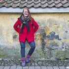 Tuore esitystaiteen läänintaiteilija Marika Räty ottaa tuntumaa maakuntaan. Taiteen tekijöitä hän kehoittaa ottamaan aktiivisesti yhteyttä. Kuva: Pekka Lehmuskallio
