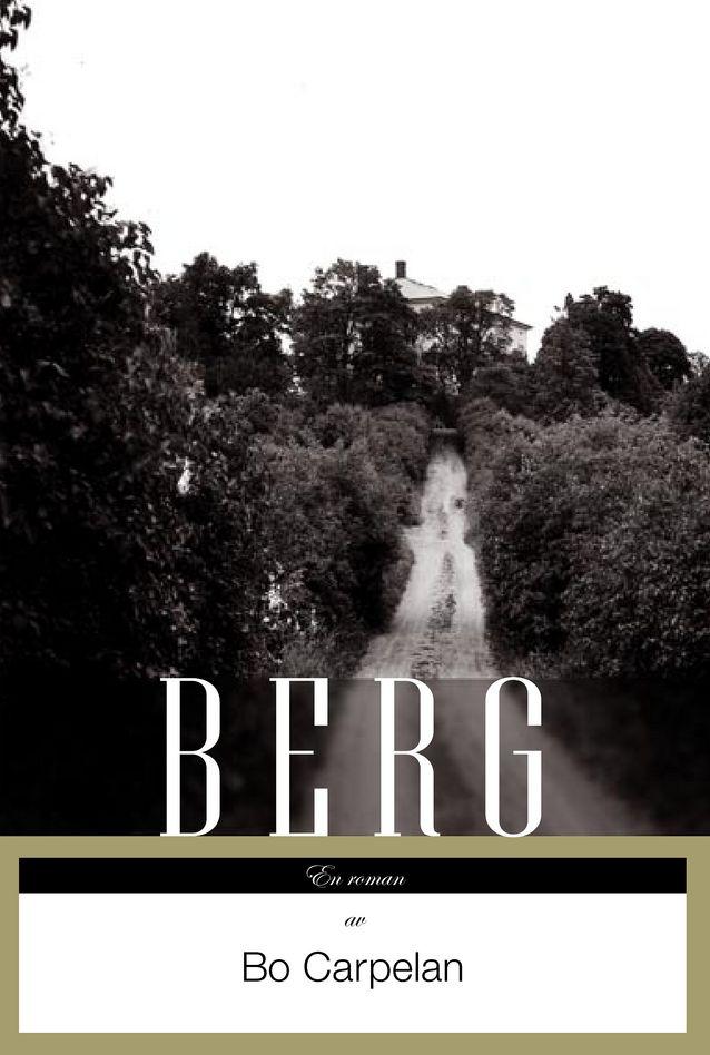 Romanen Berg (2005) som Bo Carpelan vann sitt andra Finlandia-pris med väckte diskussion. Foto: Schildts & Söderströms.