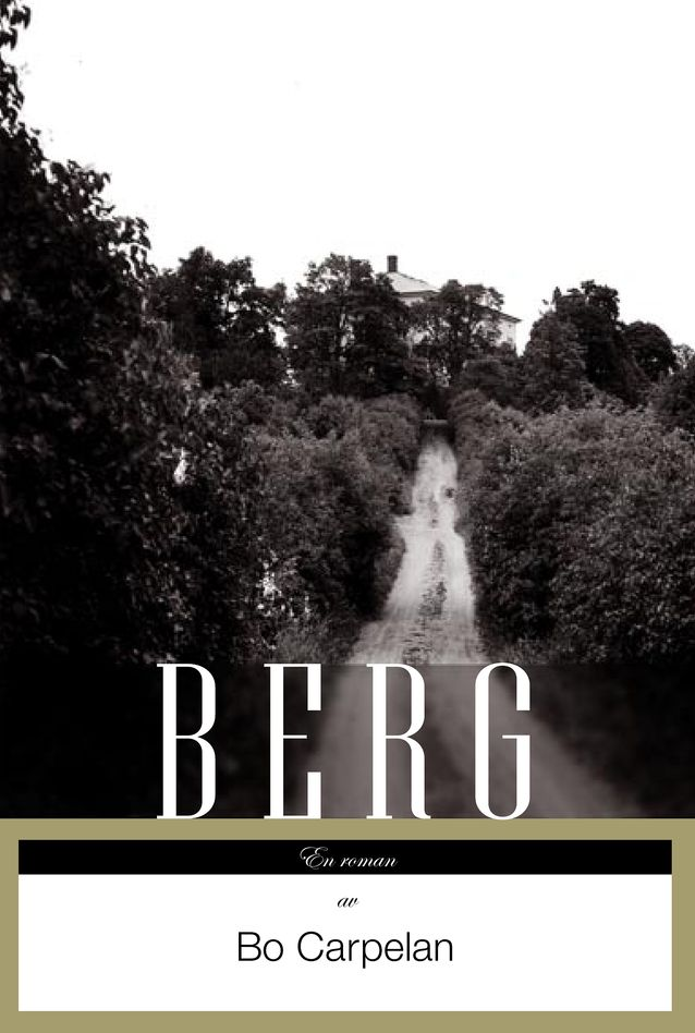 """Bo Carpelanille toisen Finlandia-palkinnon voittanut romaani """"Berg"""" (2005) herätti keskustelua. Kuva: Schildts & Söderströms."""