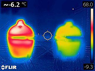 KOBE ei päästä läpi samalla tavalla lämpöä