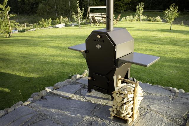 torm combi savustin-grilli käytössä