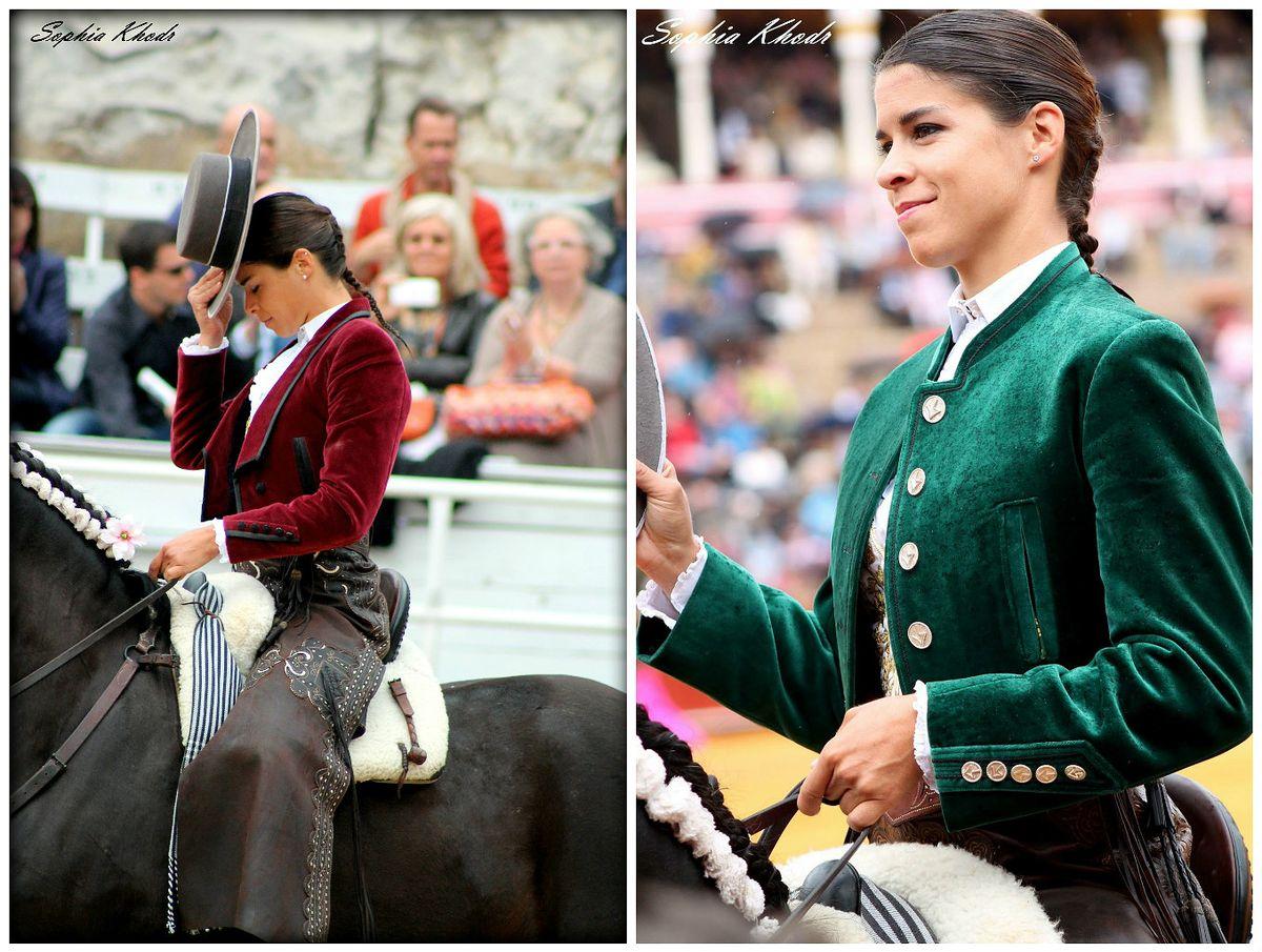 Lea VICENS - Femme torero à cheval
