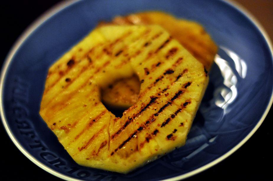 Recette ananas grillés