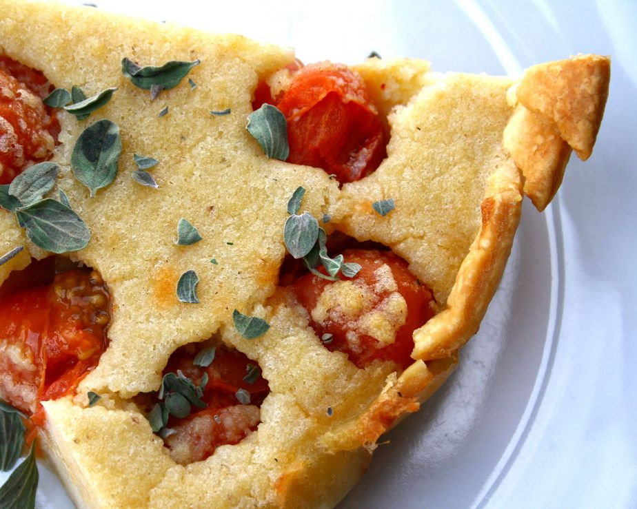 recette clafoutis de tomates