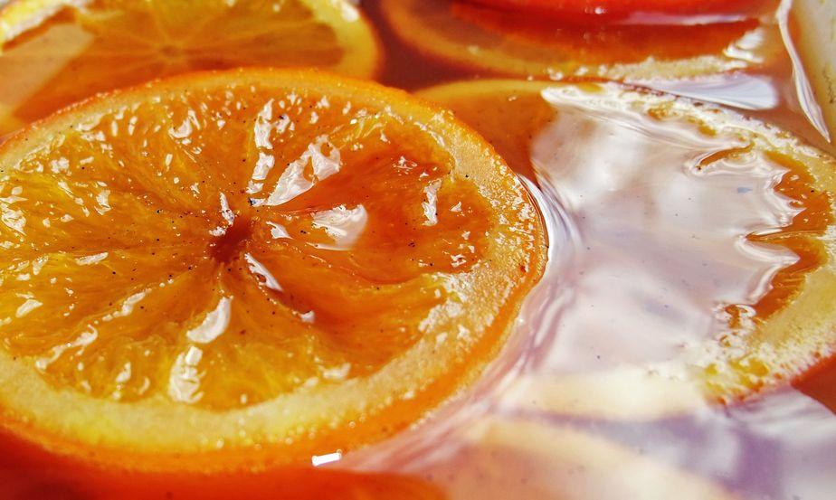 Recette oranges marinées