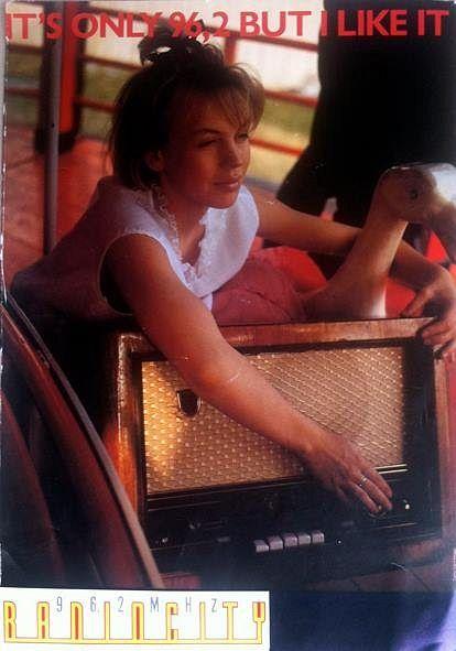 Baba Lybecks karriär som journalist började under den våren då hon var abiturient och blev programledare på Radio City. Bild: Taina Värri.