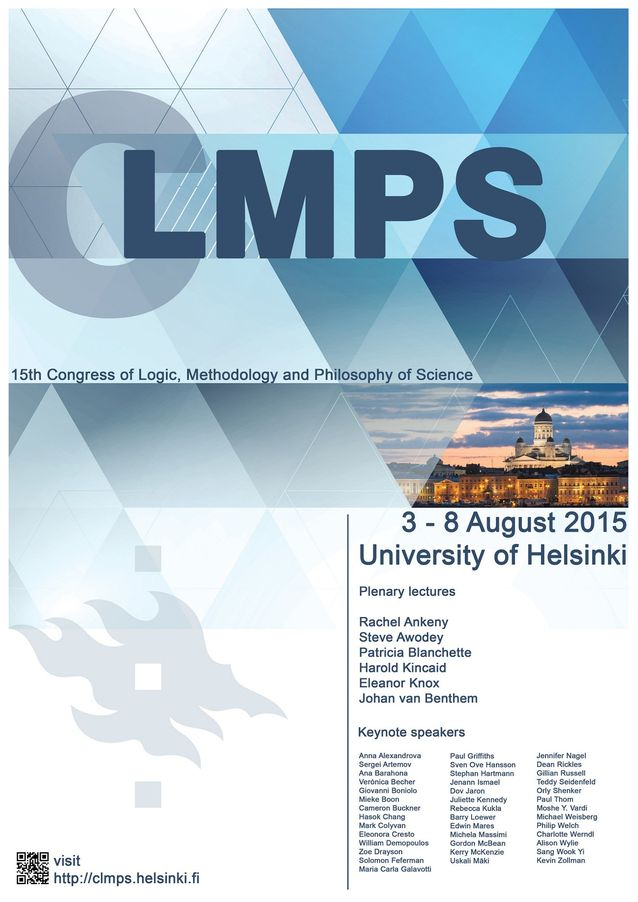 Logic, Methodology and Philosophy of Science 3.-8.8.2015.​