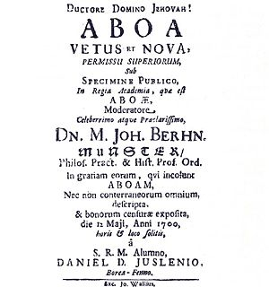 Aboa vetus et nova (Vanha ja uusi Turku)