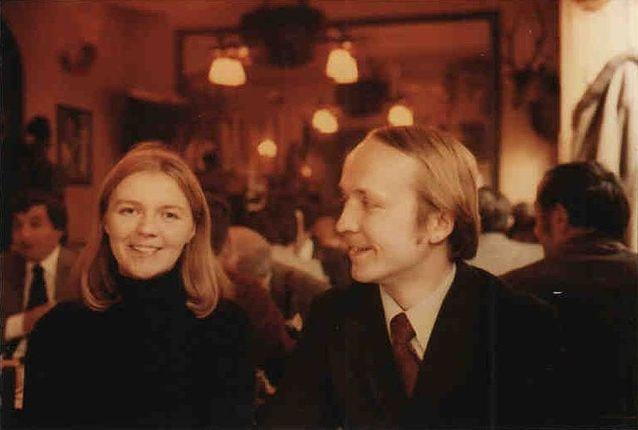 Eila ja Eero Tarasti Pariisissa 1979.