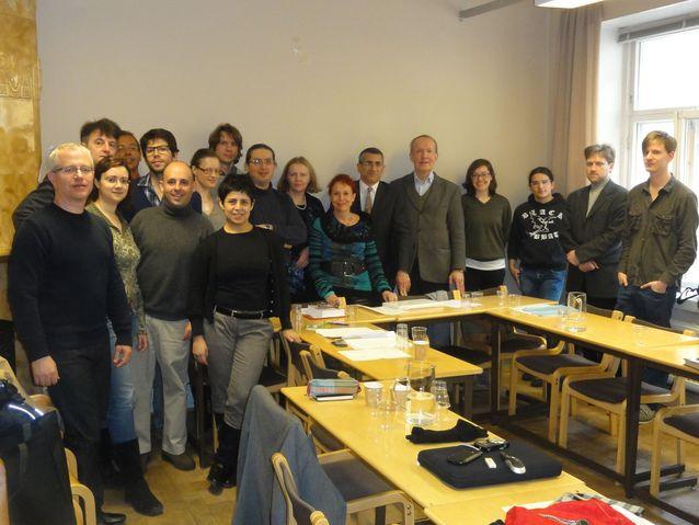 The Semiotics of Music, 13th Postgraduate seminar in the Department, 2012.