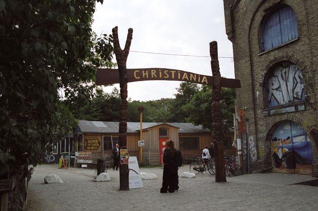 Christianian sisäänkäynti. Kuva: Bruno Jargot / Wikimedia Commons