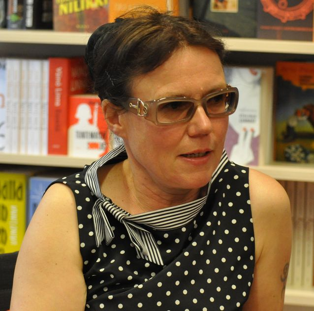 Rosa Liksom. Kuva: CommonsWikimedia / Soppakanuuna