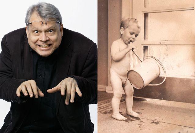 Pekka Hako vuonna 2015 ja vuonna 1959.