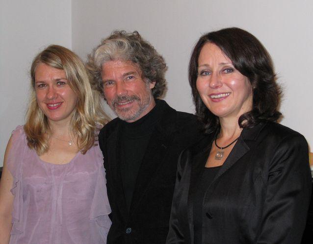 RSO:n konsertissa vuonna 2009 Kuukonserton solisteina olivat pianisti Heini Kärkkäinen ja mezzosoprano Monica Groop. Kuva: Sampsa Heiniö.