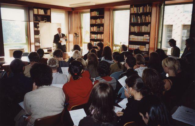 Suomen kielen päivä Porton yliopistossa vuonna 2002. Kuva: Mika Palo