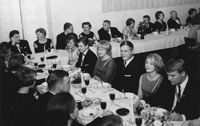 Wiipurilaisen Osakunnan vuosijuhla 5.3.1966.