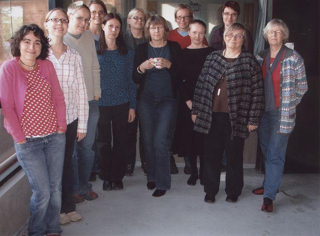 Sukupuolijärjestelmä-tutkijakoulun työkokous Tvärminnessä 2006. Kuva: Sanna Ojajärvi